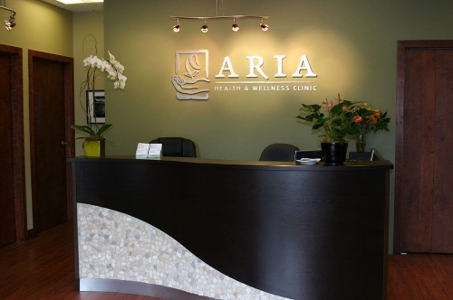Aria clinic reception