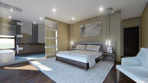 Bedroom - interior design