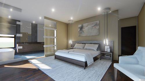 Bedroom - interior design