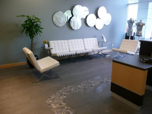 Medispa waiting room