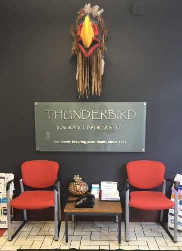 Thunderbird waiting area